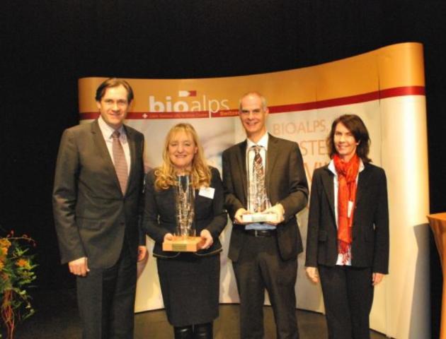 Andrea Pfeifer, CEO de AC Immune, lauréate du prix BioAlps