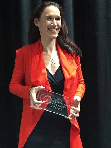 Prix CFE-Femme Entrepreneure de l'année