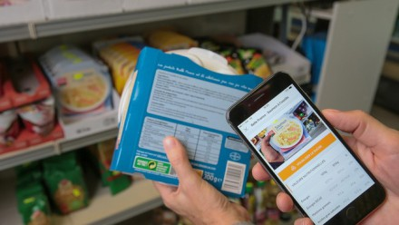 Des données sur l'alimentation à portée de clic