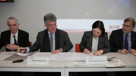 Deuxième phase de l'implantation de l'EPFL en Valais