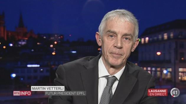 Le nouveau président de l'EPFL, Martin Vetterli, esquisse ses prochains dossiers