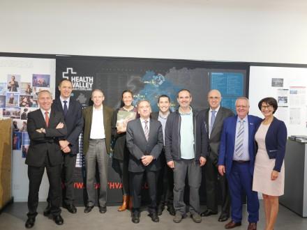 Un ministre argentin en visite à UniverCité à Renens