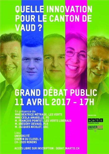 Quelle innovation pour le canton de Vaud ? Rejoignez le débat