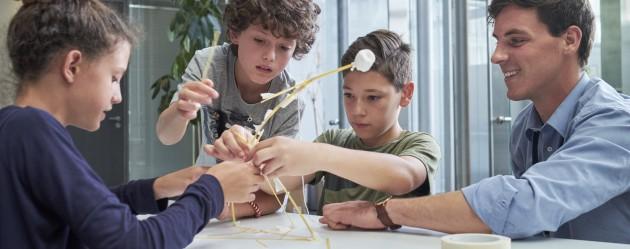 Les enfants s'essaient à l'entrepreneuriat à Campus Biotech
