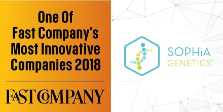 Ambassadeur de la Health Valley, Sophia Genetics prend la 5e place du TOP 10 biotech de la Fast Company