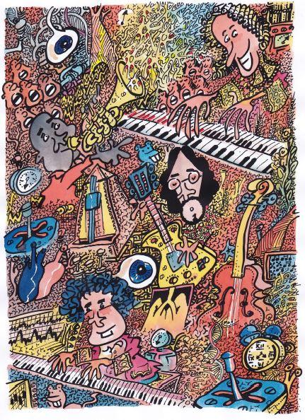 Mozart, Beethoven, John & Louis