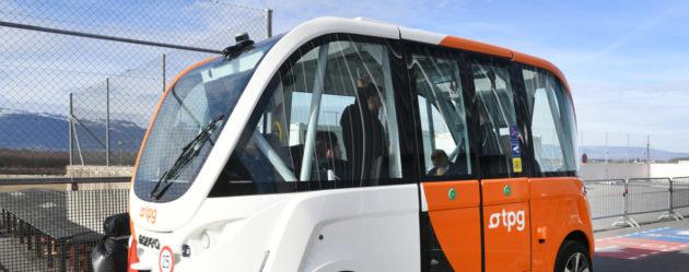 Genève se profile comme la capitale européenne des véhicules autonomes