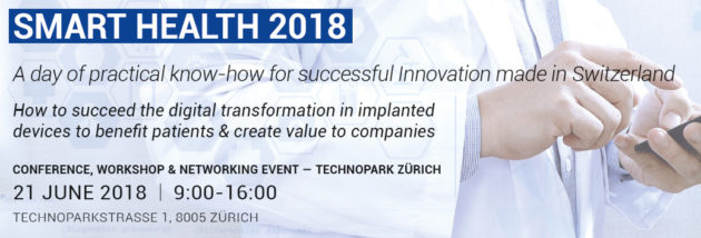 Inartis Network has the great pleasure to invite you to Smart Health 2018
