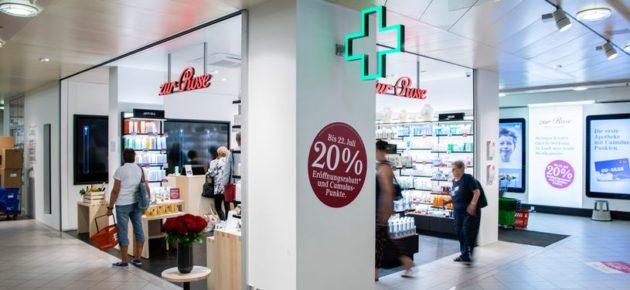 Une pharmacie au cœur du supermarché