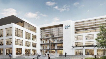 Première pierre pour le futur site d'Incyte à Morges (VD)