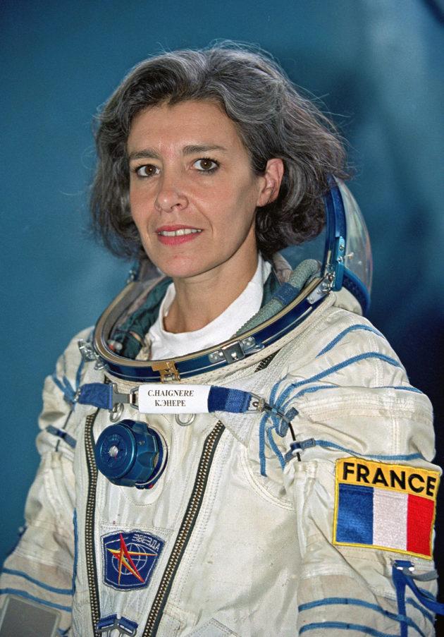 Claudie Haigneré, première femme française dans l'espace, sera à Genève lundi 20 mai. Rejoignez-nous!