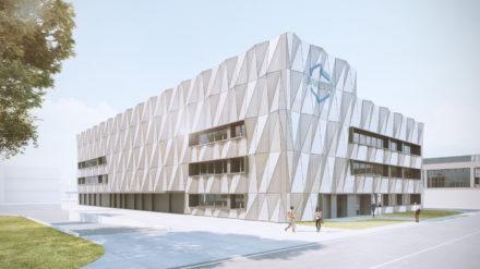 [Health Valley] La première pierre de la nouvelle usine de Bracco est posée à Plan-les-Ouates