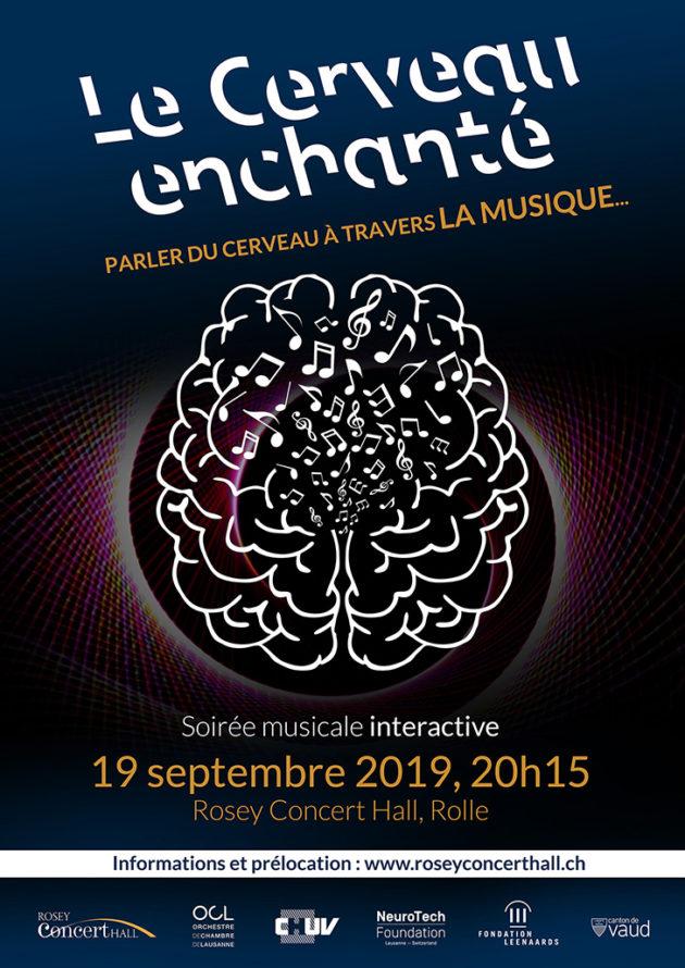 Musique & Cerveau : Vivez une expérience unique jeudi prochain 19 septembre au Rosey Concert Hall