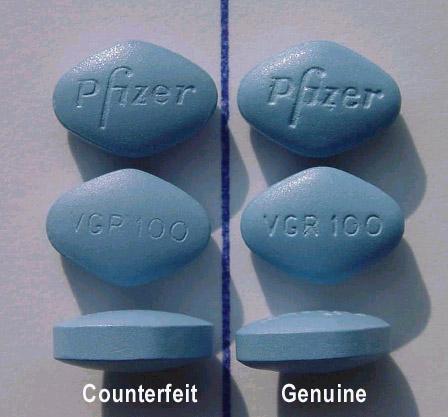 Le faux Viagra est dangereux pour la santé