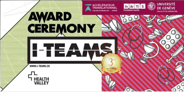 [Invitation] Participez à l'Award Ceremony des I-Teams et découvrez les 3 projets accompagnés