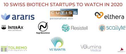 [Univercité] 4 des 10 start-up biotech suisse à surveiller en 2020 ont été soutenues par l'écosystème renanais