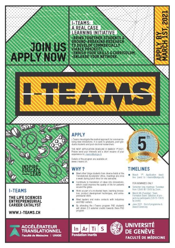 I-Teams : Étudiants, rejoignez la prochaine édition