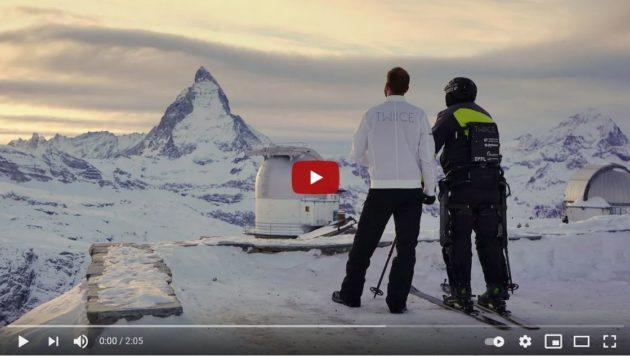 [UniverCité] Faire gravir une personne paraplégique en haut d'une montagne en ski de randonnée tout seul : Twiice l'a fait !