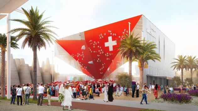 Dubaï : La Suisse a terminé la construction de son Pavillon