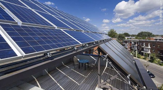 «Les nouveaux bâtiments devraient produire l'électricité qu'ils consomment»