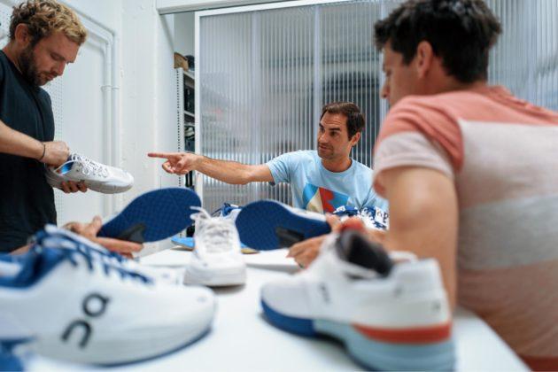 Les chaussures On et Roger Federer entrent en Bourse