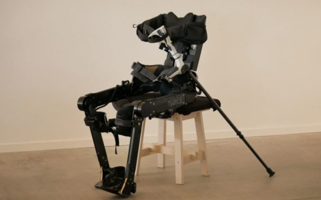 [Station R] CompPair collaborates with TWIICE: healable composites used on exoskeleton